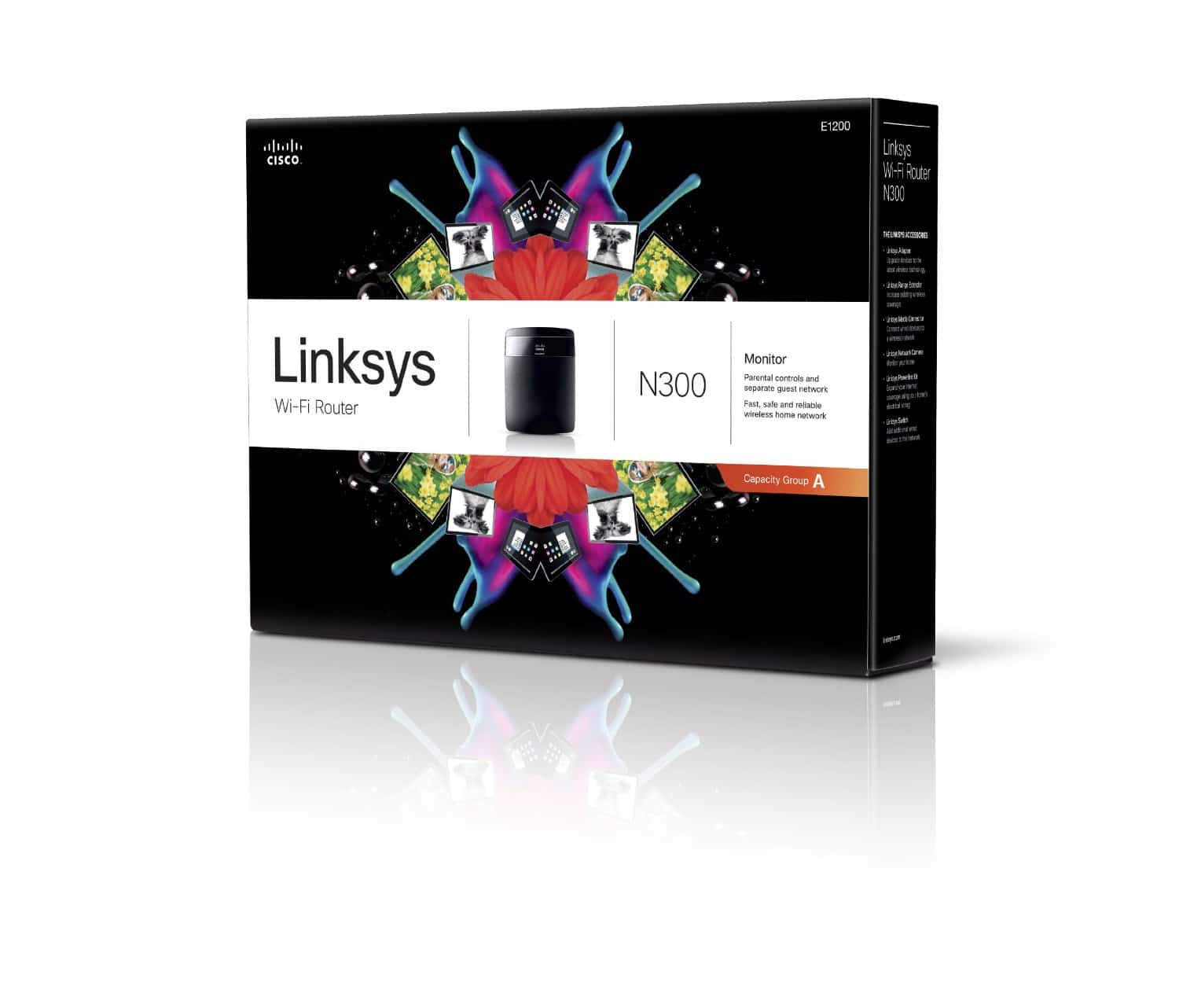 Linksys E1200 N300 Wireless Router Reviewed