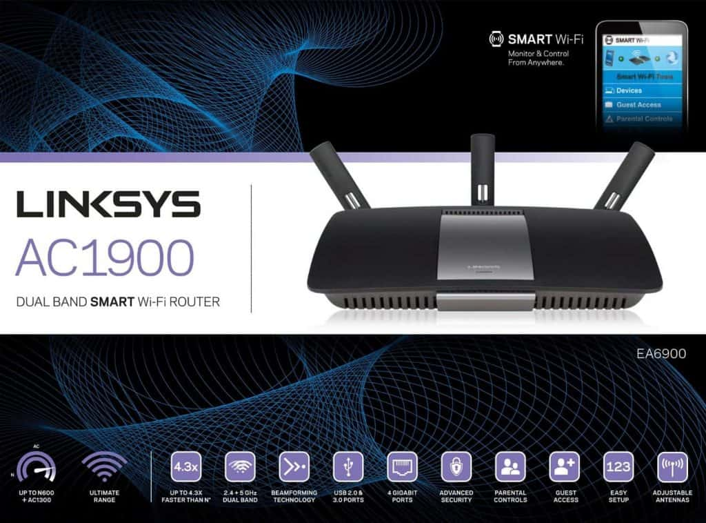 Linksys EA6900 review setup and configuration