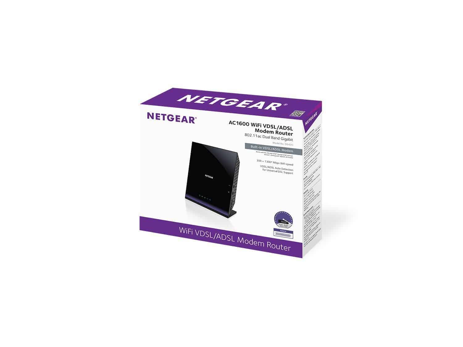Netgear D6400 AC1600 Full review