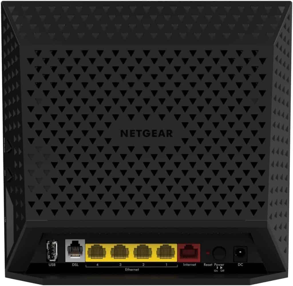 Netgear D6400 AC1600 features