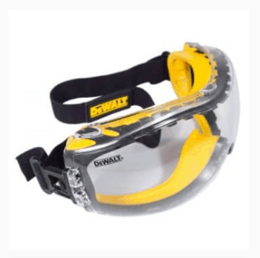 DEWALT ANTI-FOG SAFETY GOGGLES