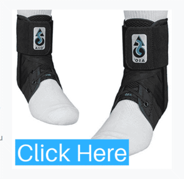 ASO Ankle Brace with Stays