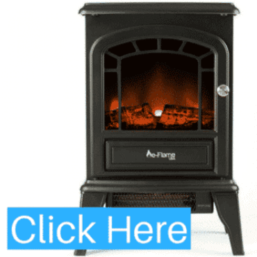 E-FLAME USA ASPEN FREE STANDING ELECTRIC FIREPLACE STOVE