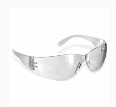 RUGGED BLUE DIABLO SAFETY GLASSES (GRAY LENS)