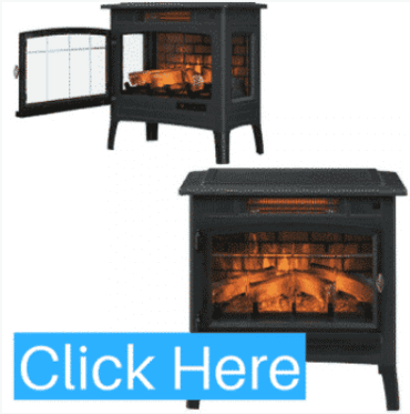 DURAFLAME DFI-5010-01 FIREPLACE WITH 3D FLAME EFFECT