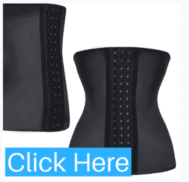 Zip and Clip Torso Waist Trainer Corset